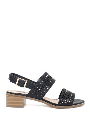 London Rag black London Rag New Arrival Womens Low Heel Sandals SH1372 06CDFSH60B3BB0GS_1