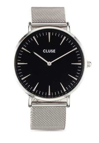 CLUSE silver La Boheme Mesh Silver/Black CL18106 CL977AC0RDBAMY_1