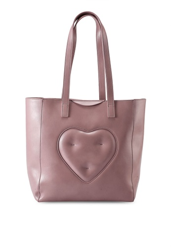 Milliot & Co. pink Annabelle Tote Bag 1E636AC9B995BEGS_1