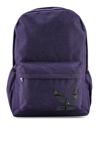 Playboy purple Playboy Logo Backpack BCF14AC61E56FDGS_1