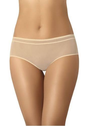 Teyli 米褐色 內褲納米短褲 3CA90USF7CF7F2GS_1