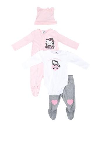 FOX Kids & Baby white New Born Gift Set A7942KA22DA644GS_1