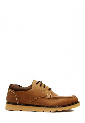 D-Island brown D-Island Shoes Low Boots Holland Leather  Cokelat EA722SHE605477GS_1