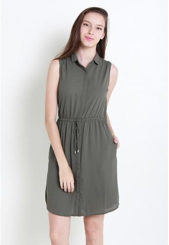 Leline Style green Feliza Dress LE802AA0GHXJSG_1
