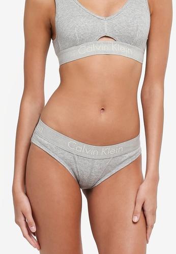 Calvin Klein grey Bikini Panties - Calvin Klein Underwear AAD73USC3440F7GS_1