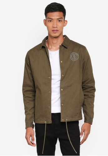 Only & Sons green Konner Karcoat 4459AAAAD9CC33GS_1