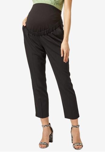 Dorothy Perkins black Maternity Black Over The Bump Pants ACDF8AAC28E071GS_1