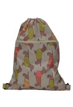 Hanz Small Dogs Drawstring Bag