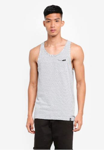 Indicode Jeans navy Poul Yarn Dyed Tank Top E60A2AADB2819FGS_1