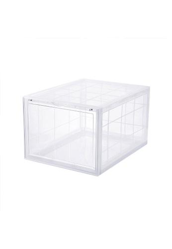 HOUZE SoleMate - AJ Premium Jumbo Shoe Box (Clear) - Dim: 37.5x28x22cm 90A05HL21C6B21GS_1