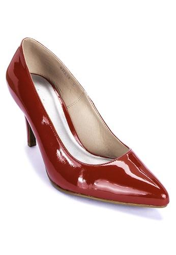 Shoo In red Billie Pumps 35F14SH81A34ADGS_1