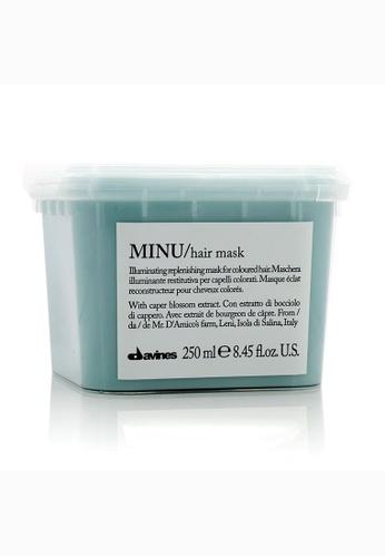 Davines DAVINES - Minu Illuminating Replenishing Mask (For Coloured Hair) 250ml/8.73oz 5CF8FBEE41D8AFGS_1