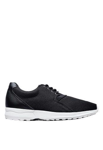 Life8 black iStarKu X MRJ Co-Branded Elastic Sporty Shoes-09706-Black LI286SH0RUU3MY_1