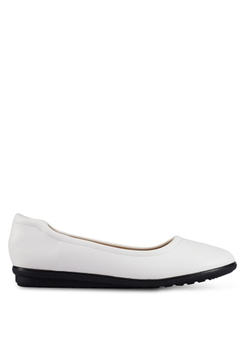 Louis Cuppers white Casual Flats LO977SH0RX44MY_1