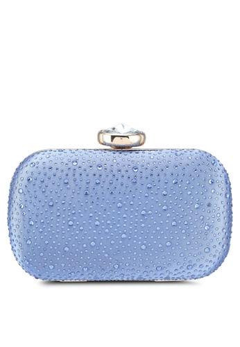 Papillon Clutch blue Twinkling Beads Clutch B3C4CAC6161ACBGS_1