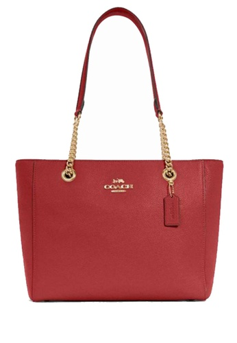 COACH red COACH Marlie Tote BEFF0ACE6B668AGS_1