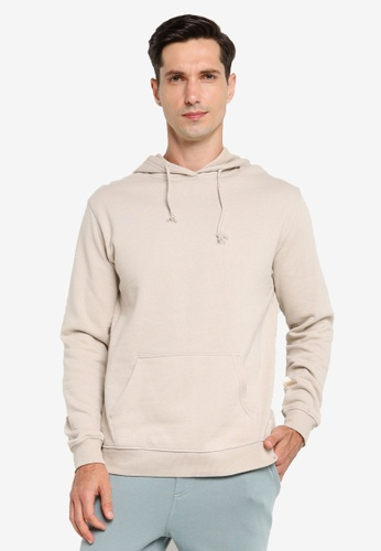 Cotton On white Essential Fleece Pullover E335AAA6A7334AGS_1