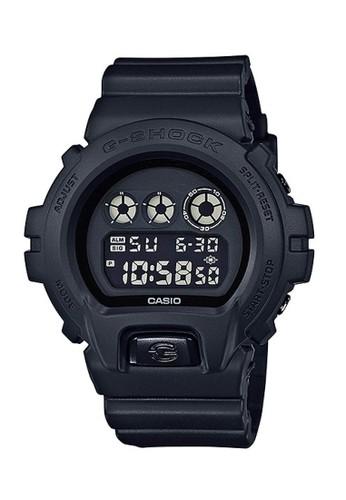 Casio black Casio G-SHOCK Jam Tangan Pria - Black - Resin - DW-6900BB-1DR 533FDAC3B17217GS_1