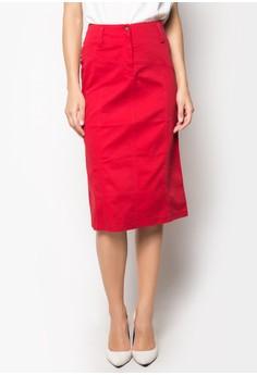 Polka Plus Size Skirt