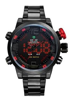 Analog LED Watch WH2309B-2C