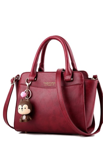 TCWK red Ladies Handbag TC258AC01YRMMY_1