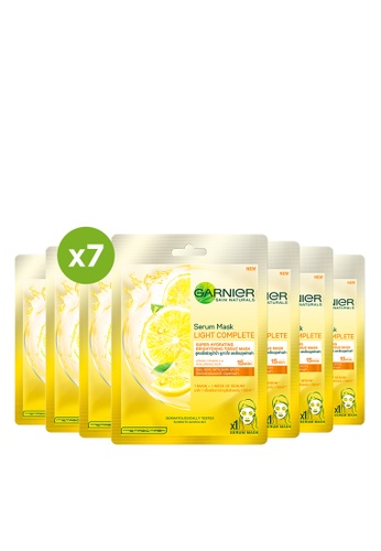 Garnier n/a Lemon Brightening Serum Face Mask For Dull Skin 30525BEB835DF0GS_1