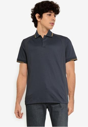 BOSS 藍色 Phillipson 80 Polo Shirt - BOSS Men DB3FCAA15A9835GS_1