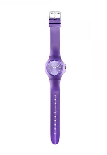 Morellato purple Colours Quartz Watch R0151114534 Purple Rubber Strap A3045AC7579C4EGS_1