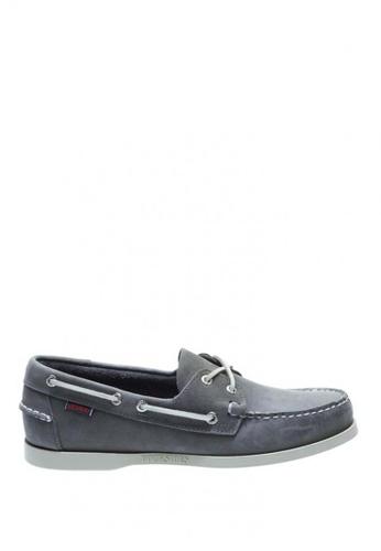 Sebago beige Mens Docksides Boat Shoes SE328SH0J4Y9PH_1