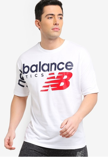 4dd366ef5d39 Shop New Balance Athletics Crossover Tee Online on ZALORA Philippines