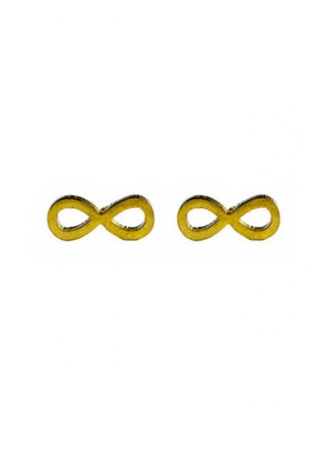 Kallisto gold Infinity Earrings KA591AC16BVVPH_1