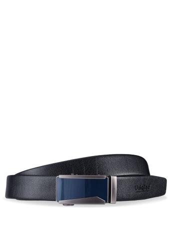 UniqTee black Dress Belt With Automatic Buckle 2967BACC9C3D53GS_1