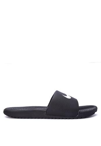 Nike black Men's Nike Kawa Slide Sandals NI126SH0STS6MY_1