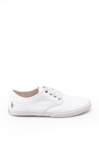 polo ralph lauren white Ethan Lace Sneakers EFA40SH7ED106BGS_1
