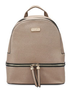 7ffd7e2422c Unisa brown Saffiano Effect Backpack ED0F1AC2A90E25GS 1