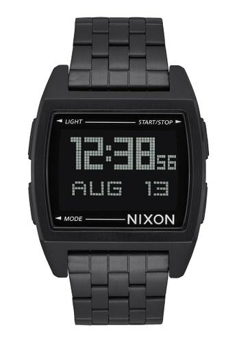 Nixon black Base 38mm - All Black (A1107001) NI919AC0WM3VID_1