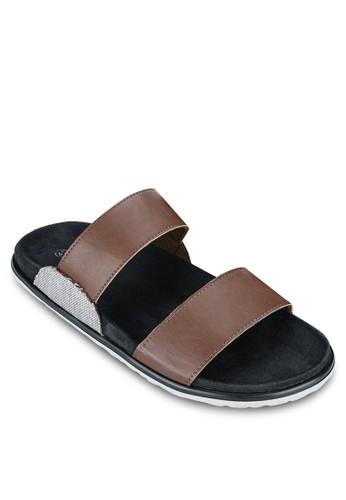 一字雙帶涼zalora taiwan 時尚購物網鞋, 鞋, 鞋