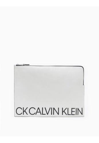 e54aae50a99 Calvin Klein Large Logo Pouch