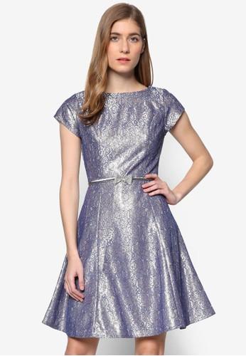 奢華風蕾絲短袖洋裝, 服esprit 尖沙咀飾, 洋裝