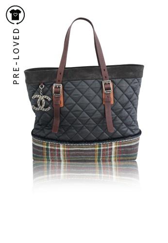 Chanel multi Pre-Loved chanel Paris Edinburgh Quilted Tote 71F5BACF361F9CGS_1