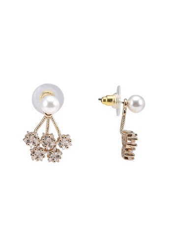 ALDO white Treclya Pierced Earrings E5CE4AC625B4A2GS_1
