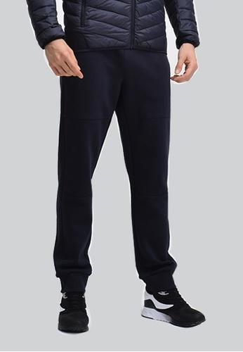 FILA navy Heritage Cotton Pant 311CFAA2E85E3AGS_1