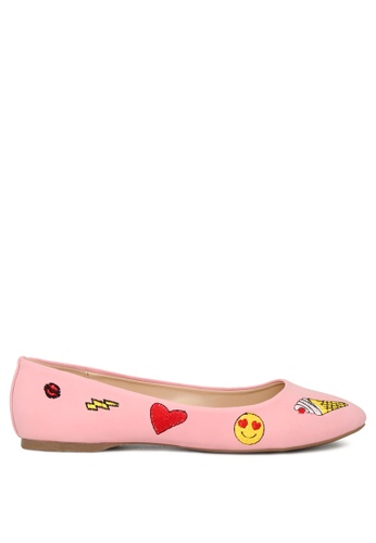 London Rag pink Pink Ballerina Shoes F20E9SHCAD5721GS_1
