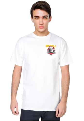 Powell Peralta white Powell Peralta Ripper T-shirt - White 9DA0AAA2E7668FGS_1