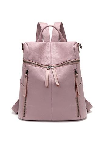 Twenty Eight Shoes pink VANSA Multi-functional Backpacks VBW-BpA001 F474EACA1DBF22GS_1