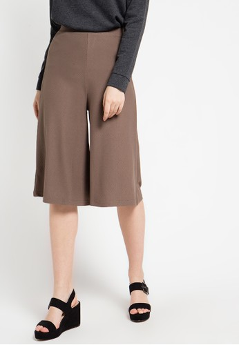 EDITION brown Flare Culotte ED101AA37ZNAID_1