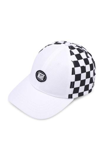 ed562f1f7e3 VANS white Back On Check Hat VA142AC0SWQMMY 1