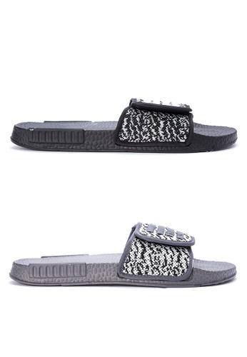 Reva black and multi Gianis Sandals & Flip Flops RE354SH0KFK1PH_1