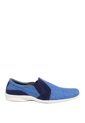 Dr. Kevin blue Dr. Kevin Men Casual Shoes Slip On 13292 - Blue DR982SH0US9TID_1