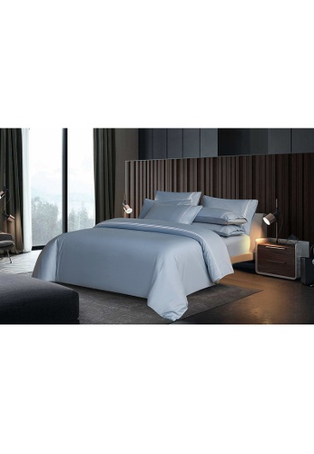 Canopy blue Canopy Luxe Elegant 100% USA Cotton Full Bed Set 06869HL7091E68GS_1